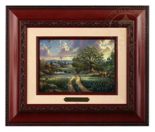 Thomas Kinkade Country Living Brushwork (Brandy Frame)