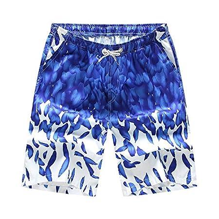 Westtreg Quick Dry 3D Albero Stampato Beach Shorts Uomo Swim Plus Size Costumi da Bagno Trunks Surf Board Beach Shorts Beachwear Maschile, L