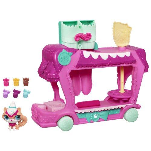 Littlest Pet Shop Sweet Delights Treat Truck Set -