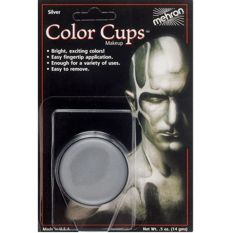 - Silver Color Cups (1 per package) by Mehron
