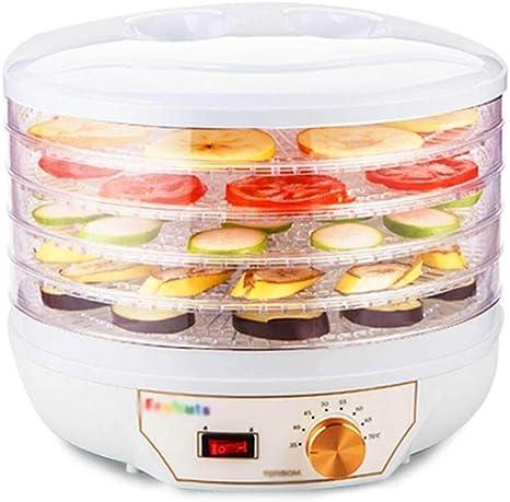 Opinión sobre L.TSA Deshidratador de Alimentos Deshidratador de Alimentos, 5 Capas Bandeja Regulación de Temperatura Máquina de Alimentos Secos para el Secado de Alimentos, Frutas, 260 w