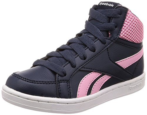 000 white De Prime collegiate Multicolor Reebok Zapatillas Navy light Deporte Mid Para Mujer Royal Pink x6ZwqgU