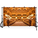 COMOPHOTO 20x10ft Polyester Photography Backdrops Beauty and the Beast Theme Party Photo Background