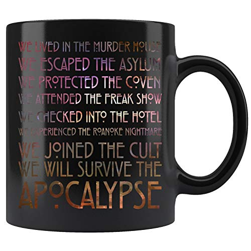 American Movies Horror Story Halloween Costume Coffee Mug 11oz Gift Tea Cups 11oz for $<!--$13.95-->