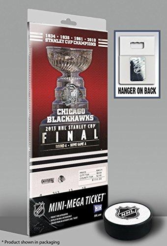 2013 NHL Stanley Cup Final Mini-Mega Ticket - Chicago Blackhawks