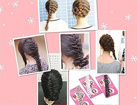 10Pcs Fashion Hair Twist Styling Clip Stick Bun Maker Braid Tool Accessories VH