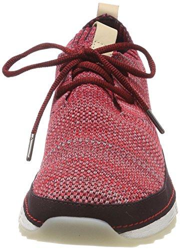Low Clarks WoMen Top Sneakers Tri Native Red wwFqPZxC