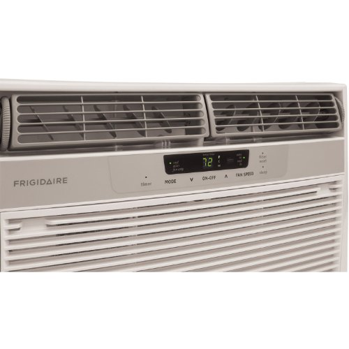 Frigidaire fra065at7 6000 btu mini compact window air for 12 inch high window air conditioner