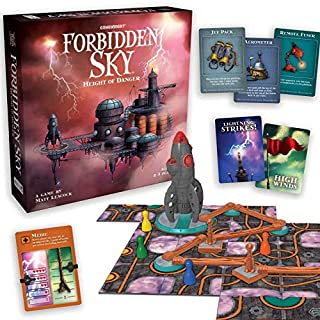 Forbidden Sky – The Cooperative Strategy Survival Rocket Building Board Game