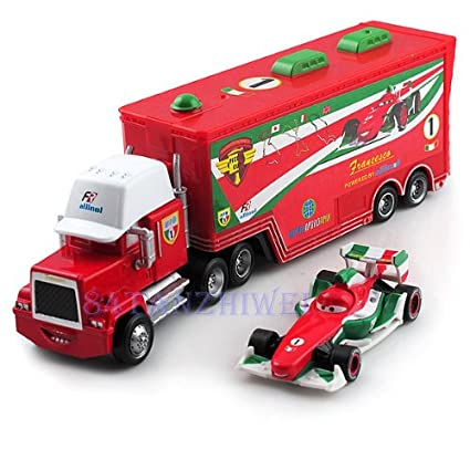 Amazon com: 2pcs Disney Pixar Cars F1 Francesco Bernoulli