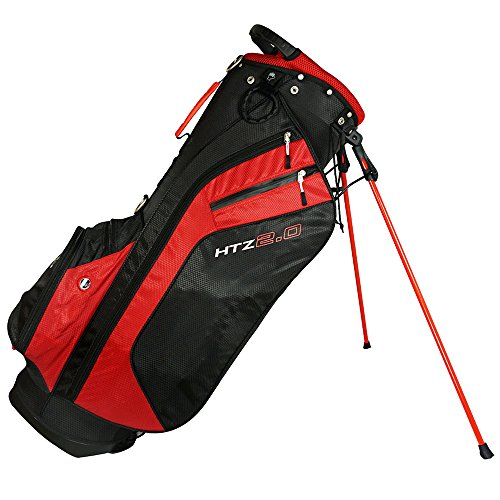 Hot-Z 2017 Golf 2.0 Stand Bag, Red/Black