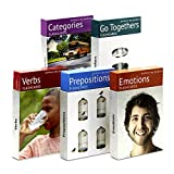Picture My Picture Feelings and Emotions, Prepositions, Verbs, Categories and Go Togethers Flash Card Pack