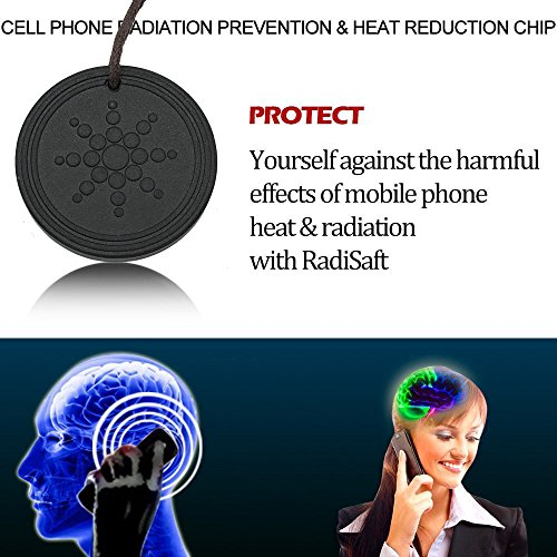 Electromagnetic Radiation Protection Necklace: Anti Radiation Shield EMF Protection Negative Ion Balance