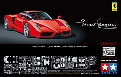 Tamiya Enzo Ferrari with Detailed Parts 1/24 Scale Model Building Kit by tamiya