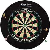 Kings Dart Auffangfeld rund und passend für Dartscheiben mit Außendurchmesser von 45.5 cm