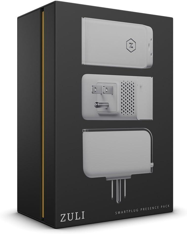 Zuli Smartplug: Smart Home Control, Dimmer, Energy Monitor & Timer (Presence 3 Pack)