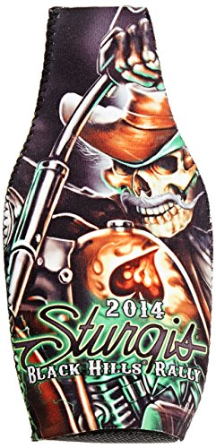 Hot Leathers (SPA6005 Mutli, BS Sturgis Motorcycle Rally Bottle Suit with Wild Bill - Apparel Mutli