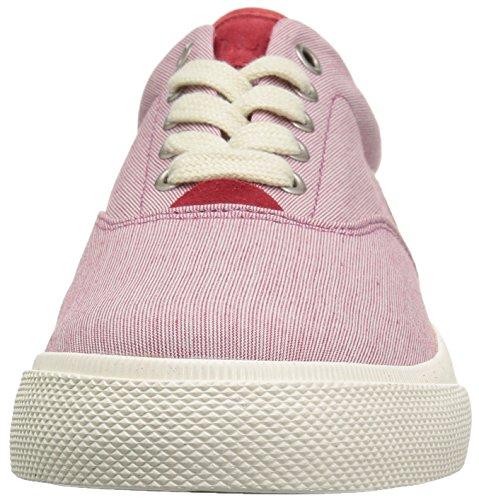 Polo Ralph Lauren Mens Sneaker Vaughn Rl Rouge