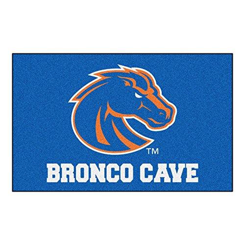FANMATS 14535 Boise State University Nylon Universal Man Cave UltiMat Rug