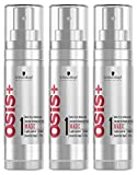 OSiS+ MAGIC Anti-Frizz Shine Serum, 1.7-Ounce (3-Pack)