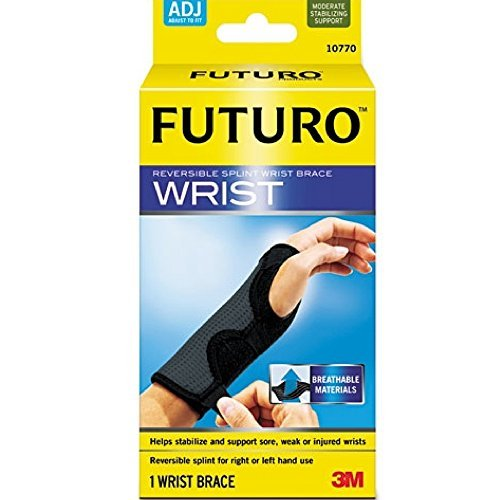 3M Futuro Reversible Splint Wrist Brace 1 Each(12 Pack) by 3M Futuro Reversible Splint Wrist Brace 1 Each (Image #1)