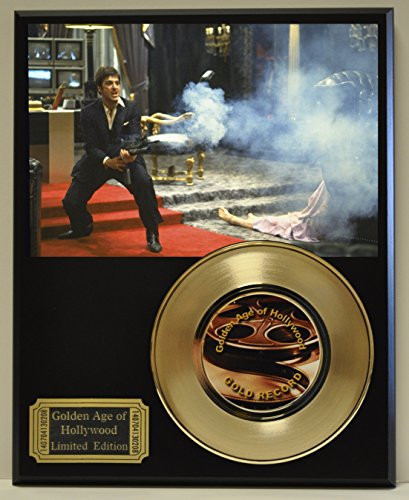 Scarface Limited Edition Gold 45 Record Display. Only 500 made. Limited quanities. FREE US SHIPPING