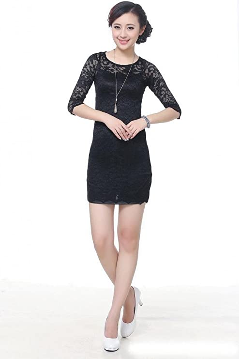 Amazon.com: COCONEEN Elegant Chinese Qipao Traditional Cheongsam Dresses: Clothing