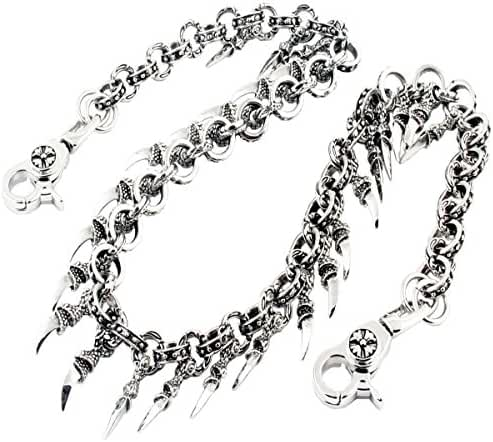 DoubleK Claw Symbol Key Jean Wallet Chain (28