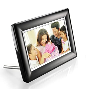 philips 7 inch lcd digital photo frame black