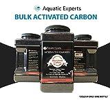 Classic Activated Carbon Aquarium Charcoal Filter Media - Remove Odors and Discoloration with Bituminous coal 64 oz filter by Aquatic Experts USA