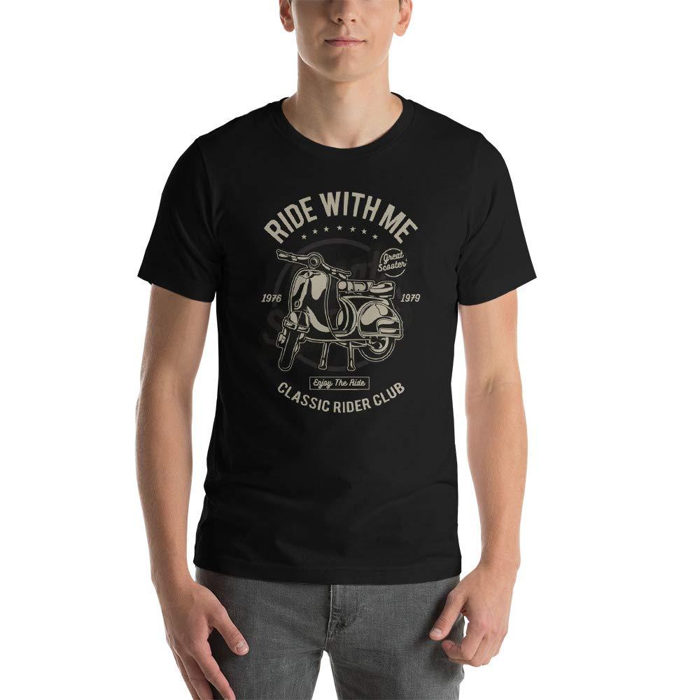 Abundant Life Co Vintage Scooter Riders Club Classic Racing Apparel Short-Sleeve Unisex Gift T-Shirt