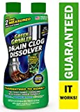 DISSOLVE Liquid Hair & Grease Clog Remover | Drain Opener | Drain cleaner | Toilet Clog Remover, 31 oz: more info