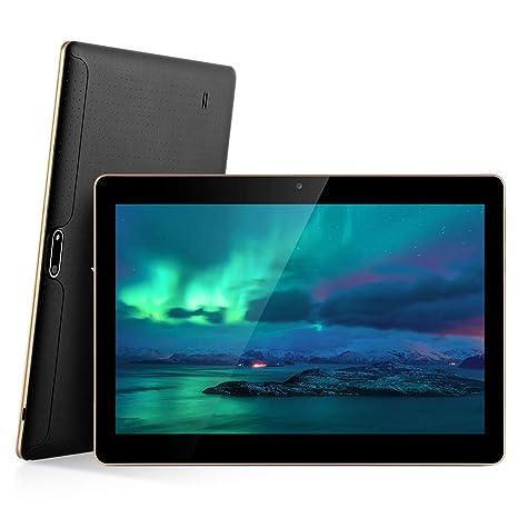 MAD GIGA Tableta Ordenador, Tableta de 32 GB, 10 pulgadas, RAM 2G, 1280X800 WiFi 3G, WCDMA, tarjetas Dual SIM, Android 6.0
