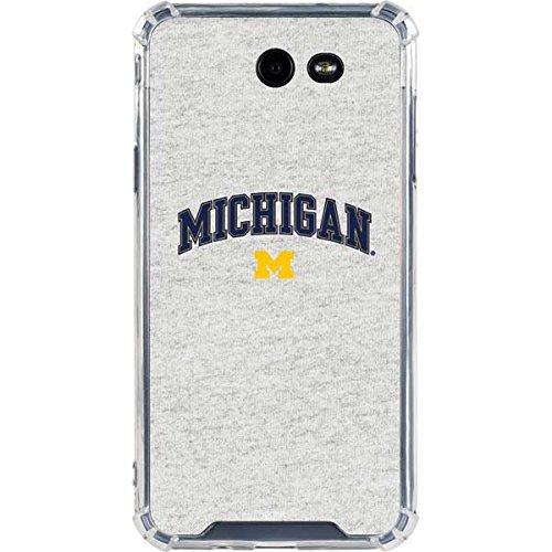 University Michigan Galaxy J7 (2017) Case - Collegiate Licensing Co | Skinit LeNu Case - Clear Galaxy J7 (2017) Cover