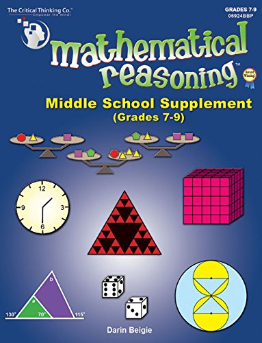 High School Standards Math (Mathematical Reasoning Middle School Supplement - Solving Non-Routine Problems (Grades 7-9))