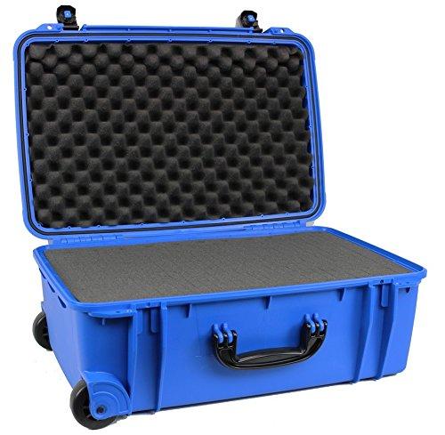 大型防水ケース、車輪付き、事前に芯が入っているプラックフォーム (C.A.R.G.O. CG-221308)- (ブルー) B074WH699S