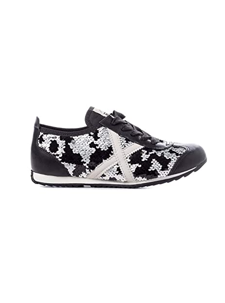 Zapatillas Munich Osaka 355 44 Plateado: Amazon.es: Zapatos y complementos
