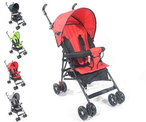 Buggy Jogger S2 Kinderwagen Baby Sitzbuggy Sportwagen Babywagen OVP (Rot)