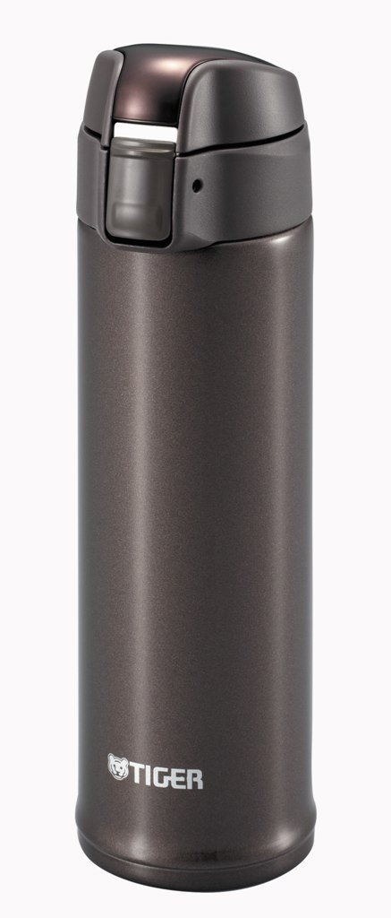 TIGER stainless mini bottle <Saharamagu> Metallic Brown 0.3L MMP-S030-TV (japan import) by NA