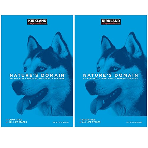 Nature's Domain Grain-Free All Life Stages Salmon Meal & Sweet Potato Formula for Dogs, 35 LB