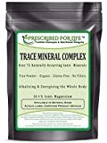 Trace Mineral Complex (Ionic) - Over 72 Naturally Occurring Ionic Alkalizing Minerals - 16% Ionic Mg, 25 lb
