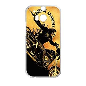HTC One M8 Phone Case White Sons Of Anarchy PLU6210170