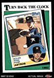 1988 Topps # 661 Turn Back The Clock Nolan Ryan Houston Astros (Baseball Card) Dean's Cards 8 - NM/MT Astros