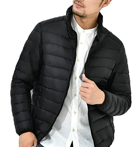 amp;W Puffer Down Black Warm Men's Jackets amp;S M Light Packable Ultra 50wZw8xq