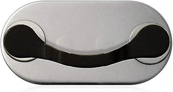 MAG-B porta occhiali magnetico (acciaio inossidabile nero)