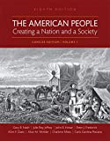 img - for 1: The American People: Creating a Nation and a Society, Volume I, Books a la Carte Edition (8th Edition) book / textbook / text book