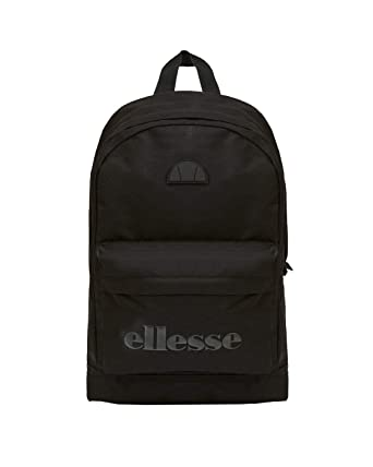 ellesse Heritage Regent Backpack Rucksack School College Sports Bag Black  Mono  Amazon.co.uk  Clothing e5b237d2b8caa