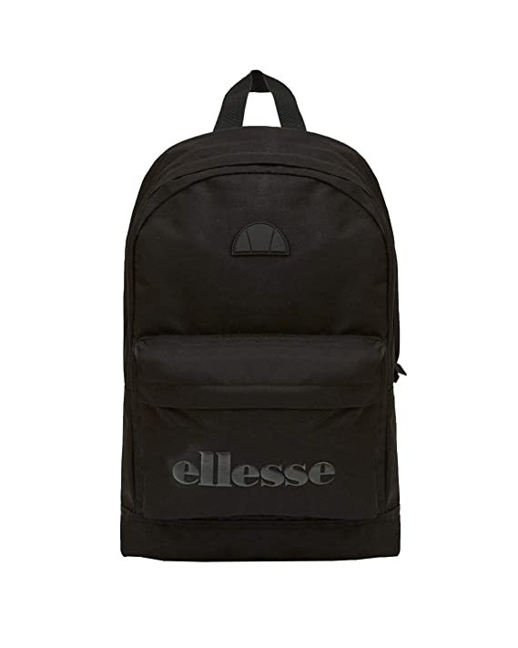 ellesse Heritage Regent Backpack Rucksack School College Sports Bag Black  Mono  Amazon.co.uk  Clothing 38fd896e0d84d