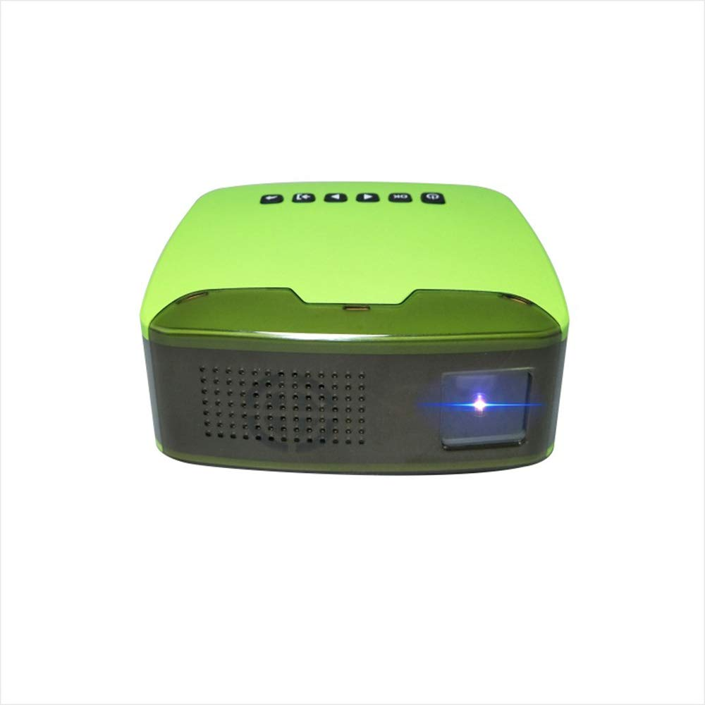 Proyector HD, Mini proyector portátil para el hogar, 1080 Full HD ...