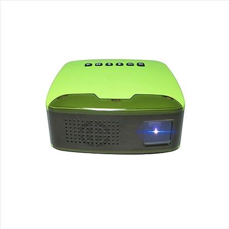 Mini proyector, hogar 1080 Full HD Proyector portátil de Pantalla ...